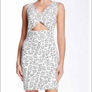 CeCe by Cynthia Steffe cut out dress